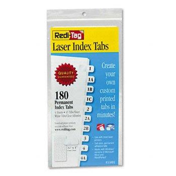 RTG33001 - Laser Printable Index Tabs