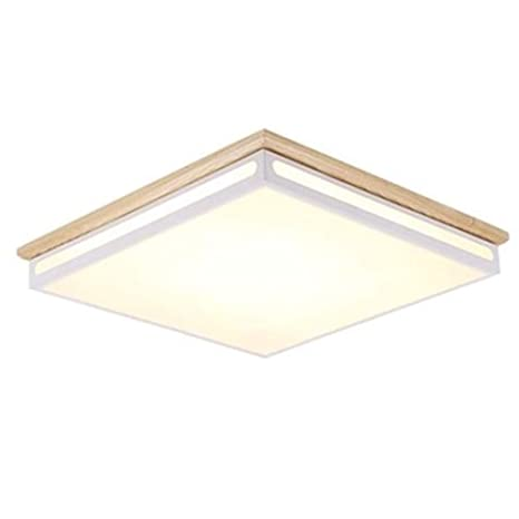 Cuican Ultra Thin Square Ceiling Lamp Led 32w Flush Mount