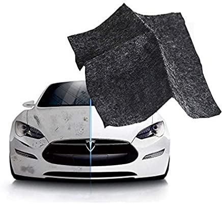 5Pcs Upgraded Version Nano Magic Cloth,Magic Car Scratch Remover Cloth for Car Scratches and Repairing Paint Scratches,Multipurpose Scratch Repair Cloth