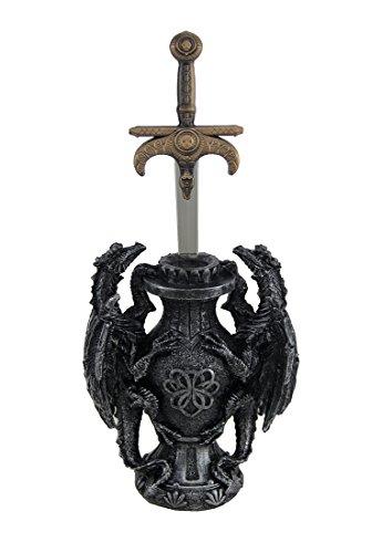 Signet of Dragos Medieval Dragons and Sword Desktop Letter - Medieval Opener Dragon Letter