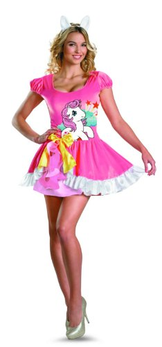 Disguise My Little Pony Sundance Sassy Costume, Pink/White, -