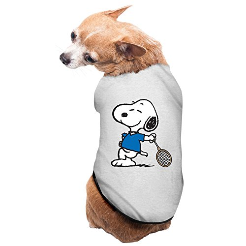 Snoopy Costume For Dogs (Gray Snoopy Charlie Brown Pet Supplies Dog Costume Puppy Jacket)