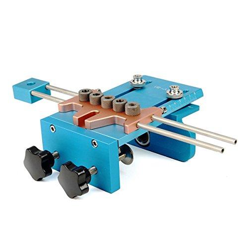 ランフィー 3 の 1 ドリル ガイド ロケーター キット刃先交換式建具ダボ用治具木工ツール セット B07CB8CDN2