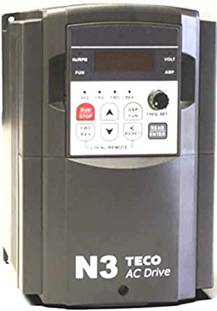 Teco Variable Frequency Drive 20 Hp 230 Volts 3 Phase