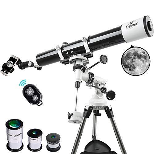 Gskyer EQ 80900 Telescope, German Technology Telescope,Starw