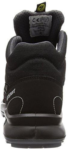 Grisport Platform, Zapatos de Seguridad para Hombre Negro (Black)