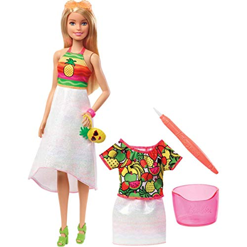 (Barbie Crayola Rainbow Fruit Surprise Doll & Fashions)
