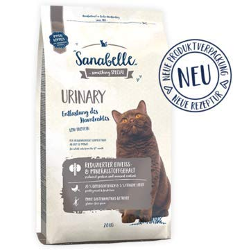 Saco pienso gatos Urinary 10 kg Sanabelle: Amazon.es: Productos para mascotas