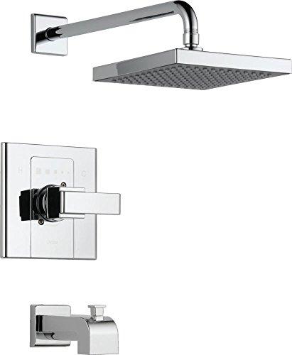 Delta Faucet T14486-SHQ Arzo, Monitor 14 Series Tub and Shower Trim, Chrome (Arzo Series Single Handle)