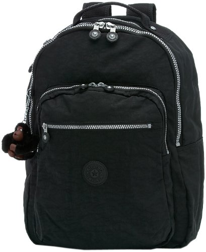 8182dccfe Amazon.com: Kipling Seoul Large Backpack With Laptop Protection,Black,One  Size: Kipling: Clothing