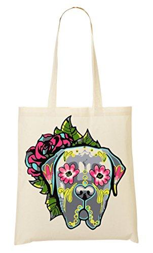 CP New Tattoed Doggy Style Bolso De Mano Bolsa De La Compra