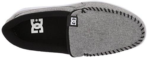 Dc Heren Schurk Tx Slip-on Skate Schoenen Grijs Hars Spoeling