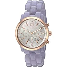 Michael Kors Women's Audrina Acetate and Rose Gold-Tone Watch MK6312