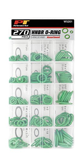 Performance Tool 270 Pc HNBR O-Ring Assortmen W5201