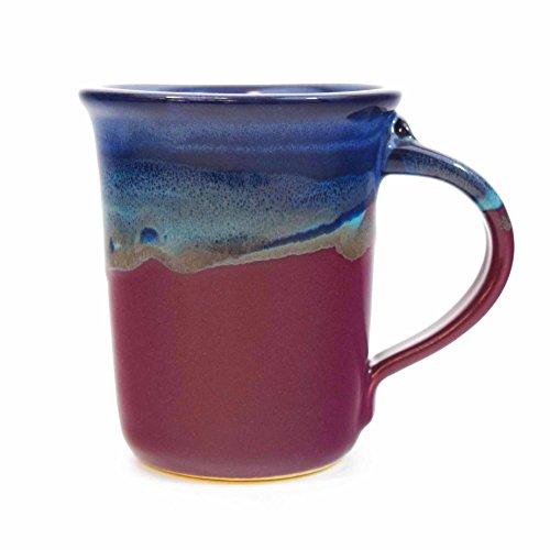 Clay in Motion Handmade Ceramic Small Mug 10oz – Purple Passion