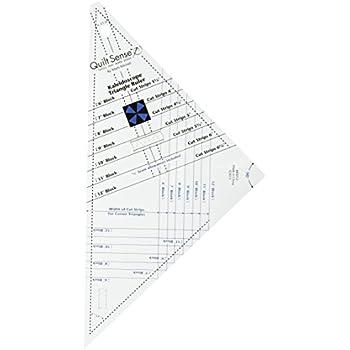 Amazon Com Dritz Quilt Sense Wonder Triangles Ruler 8 Sizes