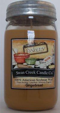 Swan Creek Candles - Gingerbread 24 oz ()