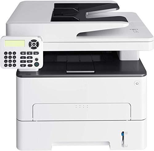RSTJVB Alle in einem monochromen drahtlosen Laserdrucker, Scanner-Kopierer Fax- und Duplexdruck zum Drucken, Kopieren…