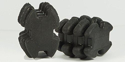 Pair of Black LimbSaver Split Limb Super Quad Dampeners Silencers (Limb Silencer Dampeners)