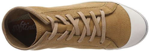 Sneaker Brown Damen Braun Kip448sof Softinos Washed Hohe 1FnRH