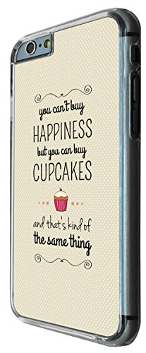 828 - You Can't Buy Happiness But you can buy Cupcakes Design iphone 6 6S 4.7'' Coque Fashion Trend Case Coque Protection Cover plastique et métal