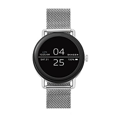 Skagen Connected Falster and Stainless Steel Mesh Smart Watch, Color:Silver-Toned (Model: SKT5000) by Skagen Connected Watches Child Code
