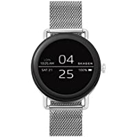Skagen Connected Falster and Stainless Steel Mesh Smart Watch (Silver-Toned)