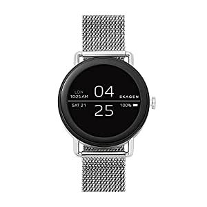 amazoncom skagen connected falster 1 stainless steel