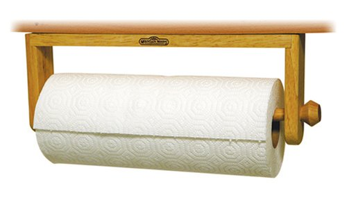 Mountain Woods Paper Towel Holder (Wooden Paper Towel Holder Under Cabinet)