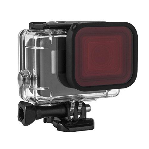 Kupton Red Filter for Kupton GoPro Hero 5 Housing Case