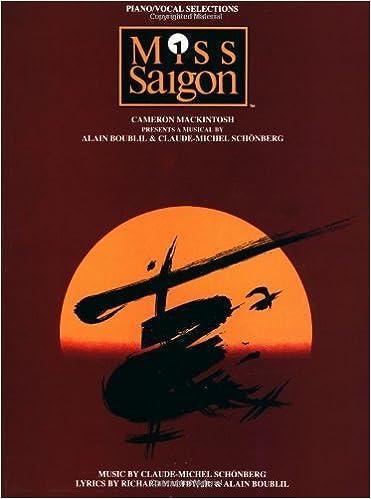 Ebook ilmaiseksi lataukset pdf Miss Saigon (Piano/ Vocal Selections) (August 1, 1990) Sheet music Suomeksi PDF ePub B0157JGNBS