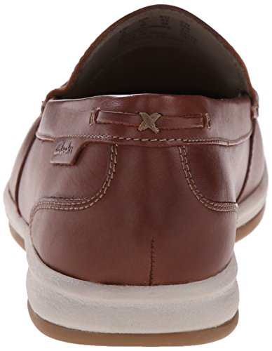 Clarks Mens Step Step Brown Fallston Shoe Boat Boat Mens Clarks Brown Clarks Shoe Fallston XB0T5qT