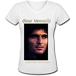 Gino Vannelli tour Hot Women's V Neck T Shirt XL