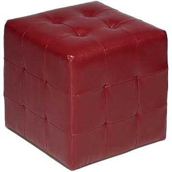Amazon Com Baxton Studio Lave Cube Shaped Brown Bonded