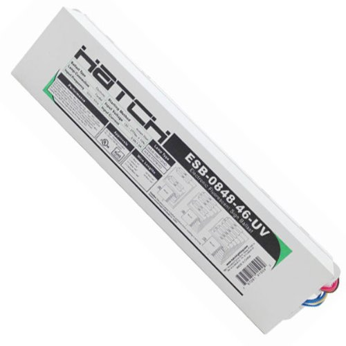Hatch ESB-0848-46-UV - Electronic Sign Ballasts - 4-6 Lamps - T12/HO - 120/277 Volt