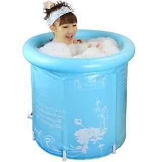Pro4u Super Thick Adult Folding Bathtub, Inflatable Bathtub, Portable  Bathtub, Plastic Bathtub