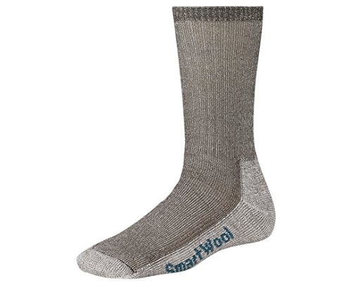 (Smartwool Women's Hiking Medium Crew, Taupe size M(shoe size 7-9.5))