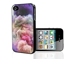 Colorful Cloudy Skies Hard Snap on Phone Case (iPhone 4/4s)