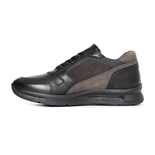 Nero Niedrige Giardini Sneaker Schwarz Herren rqCxUrP