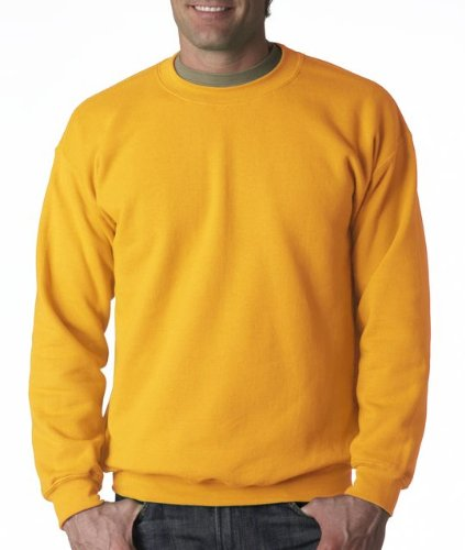 Gildan Men's Heavy Blend Crewneck Sweatshirt - XXXXX-Large - Gold ()