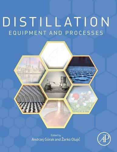 Distillation: Equipment and Processes (Handbooks in Separation Science)