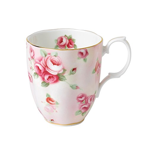 Royal Albert 100 Years 1980 Mug, 14.1 oz, Multicolor (Bone Royal China Mug Albert)
