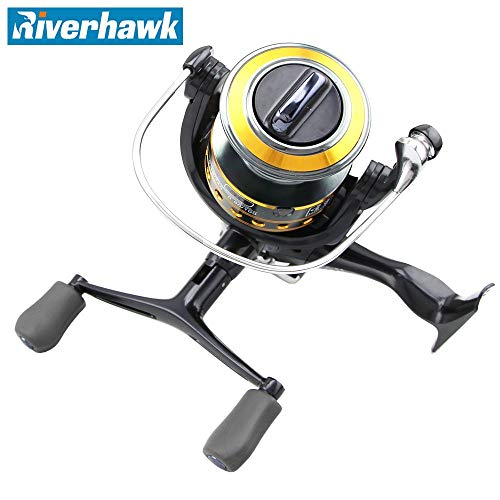 Series Spare Spool - Sea Fishing Reels 4000 Series Squid Fishing Reel Rotating Left/Right Metal Handle Spool, 9 + 1BB Axle Stainless Steel Clutch Back 1 Spare Plastic Spool