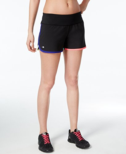 Ideology Womens Running Woven Shorts Black XL from Ideology