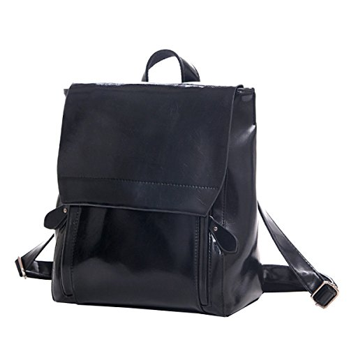 Black Leisure Business Multi Travel Backpack purpose Bag Laidayepu Shoulder q8ax1wz