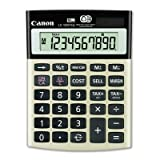 Canon LS-100TSG Green Desktop Calculator - 10 Character(s) - LCD - Solar, Battery Powered - Black