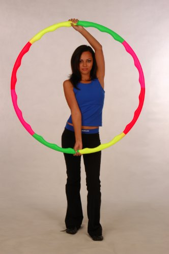 """Sports Hoop for Exercise: Wavy Hoop 1B - 1.0lb (Dia.36"""") Small, Exercise Hula Hoop"""