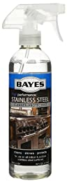 Bayes Stainless Steel Cleaner and Protectant 16 Ounce