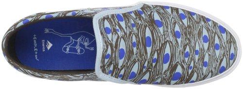Zapatillas Emerica Ridgemont Ed Templeton Browm/Blue