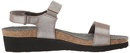Lisa Threads Naot Leather Women's Silver wRgTx0BU
